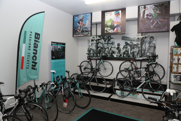 Bianchi is one of Italy's oldest and best known bicycle brands. Its owners, Cycleurope also own a stake in SOLA Sports.