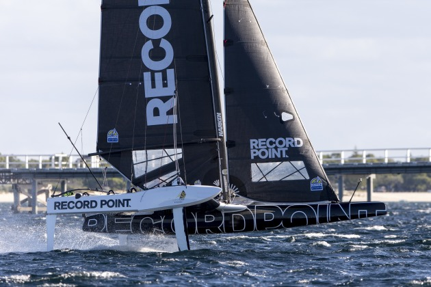 RecordPoint racing in Busselton. Photo Andrea Francolini.