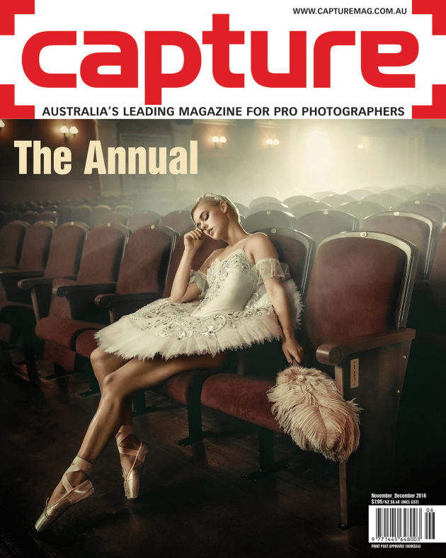 The cover of Capture's The Annual 2016. 
