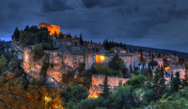 Vaison la Romaine by night will capture your heart.