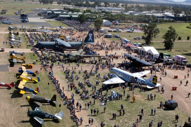 Warbirds Downunder at Temora has become one of Australia's most important warbird shows. (Temora Aviation Museum)