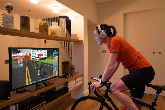 Bunch rides are booming on online training platform Zwift with the 'Aussie Hump Day Ride powered by Giant' among the most popular in the world.