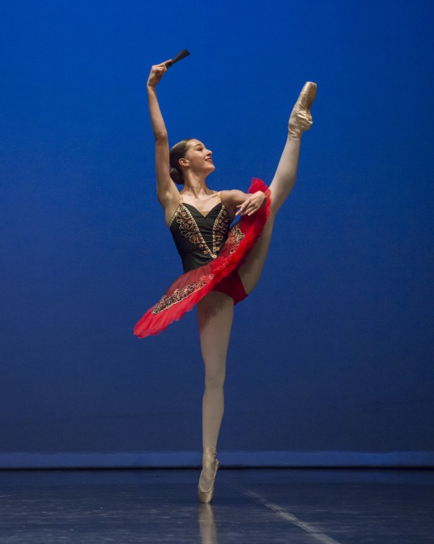 2017 A Group winner Macy Cook (then 13 yrs), now at Chilton Ballet Academy.