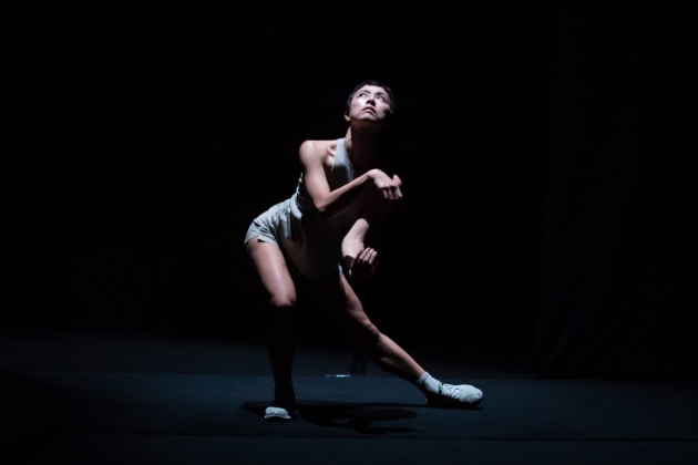 Kristina Chan in 'A Faint Existence', just one of many offerings at the 2019 Dance Massive festival. Photo: DANIEL BOUD
