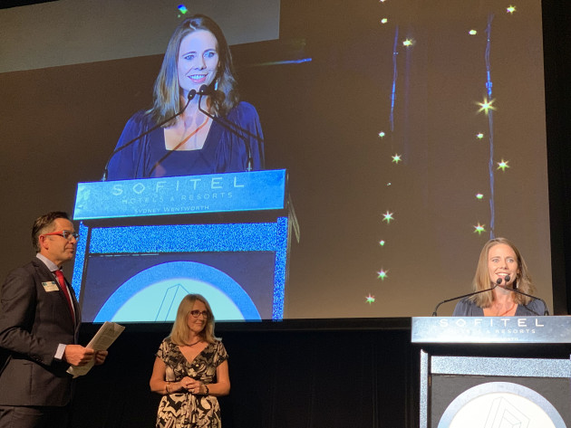 Lisa Sorensen, Lewis Road Creamery, New Zealand. Gold award in Beverage and Circular Economy (Sustainability) categories.