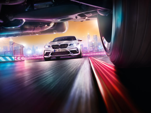 BMW M2 Competition. Agency: Serviceplan (Hamburg & International). Post production & CGI: Recom Group. Creative Director: Jan Grothklags,  Falk Pegelow. AD: Georg Verhasselt. © Andreas Hempel.