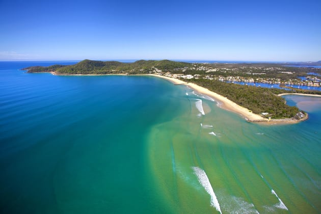 The stunning Noosa region, the location for Bicycling Australia's third Gran Fondo event, the Noosa Classic. Image: Tourism Noosa / visitnoosa.com.au