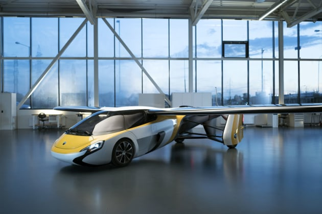 With a sell price expected to be over $US1million, the AeroMobil is targeted at high-worth individuals. (AeroMobil)