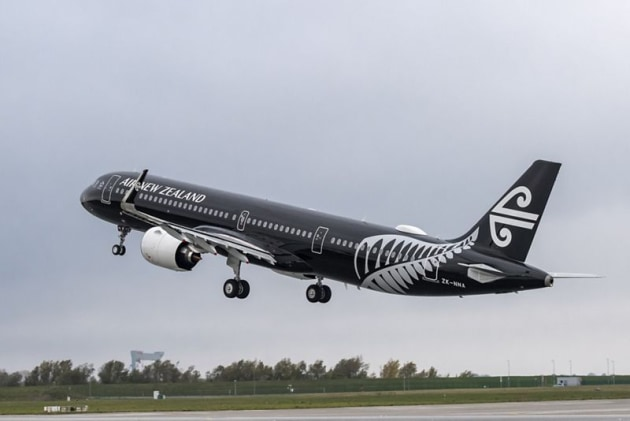 Air New Zealand has committed to doubling the single-use plastic items removed from its flights. (Image: Airbus)