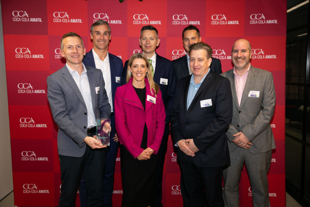 Orora won Supply Continuity at the CCA Partners for Growth Awards.