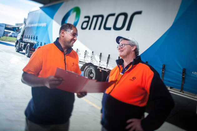 All rise: Amcor figures up across every divsion