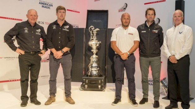 America's Cup heavy hitters - Studio Borlenghi pic