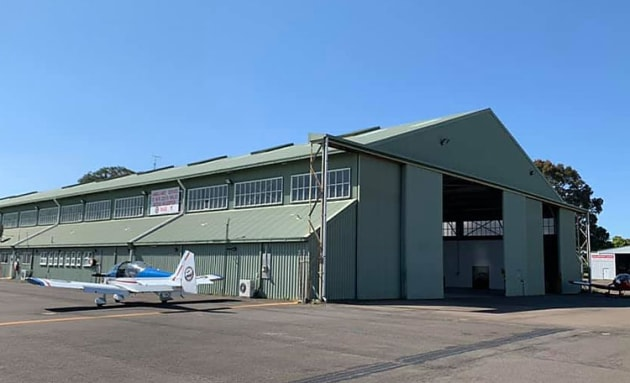 AOPA Australia is now headquartered in the Falcon Air hangar at Bankstown. (AOPA Australia)