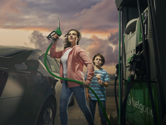 Join The Fuel Revolution. Client: Applegreen. Creative agency: Chemistry, Dublin. Creative Director: Robert Boyle. Art Director: Hugh O'Connor. Retoucher: Jon Lloyd. © Alex Telfer.