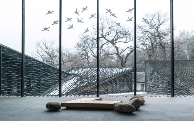 Folk Art Museum, China Academy of Arts, Hangzhou, China, by Kengo Kuma, photographed by Terrence Zhang.