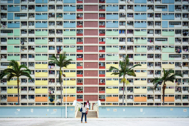 Choi Hung Estate, Hong Kong, photographed by Fabio Mantovani