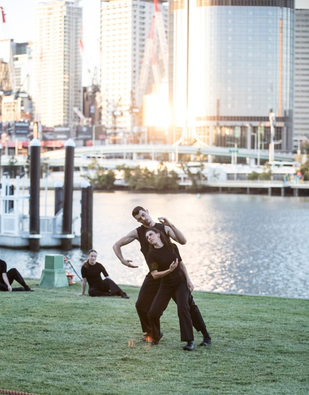 Australasian Dance Collective: Arc. Photo by David Kelly