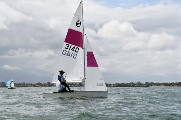 Australian 125 Champions - Slow Boat - Jamie Thompson and Ning Xue.