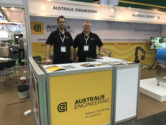 Team Australis: Anthony and Peter Gustafson.