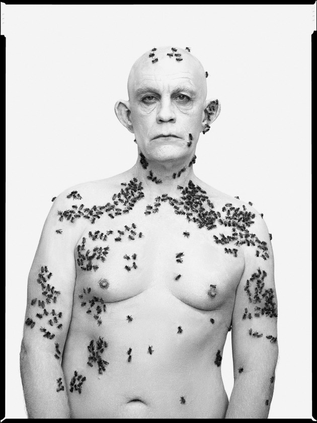 © Sando Miller. Richard Avedon/Ronald Fischer, Beekeeper, Davis, California, May 9, (1981), 2014.