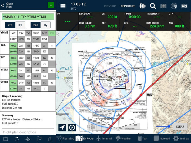 AvPlan EFB is now available in a full Android version. (AvPlan EFB)