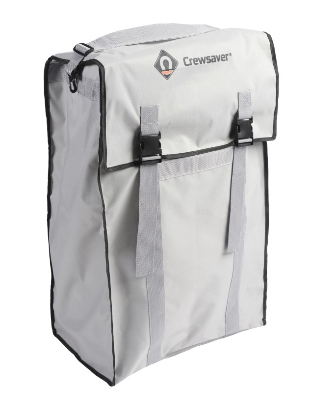 The Crewaver Inflatable Boat can be stowed in a carry valise.