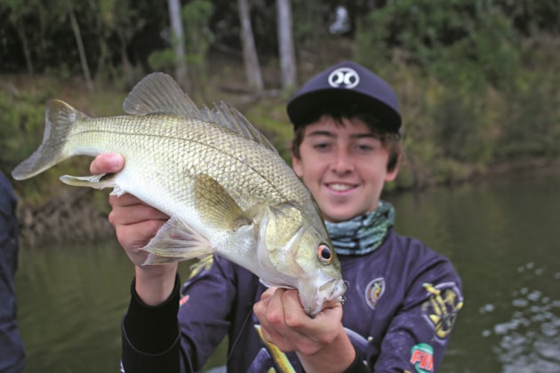 Now is the time to explore likely creeks and rivers in search of wild river bass!