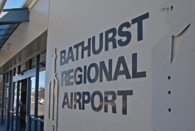 Bathurst Regional Council is seeking independent evaluation of leases on the airport. (Steve Hitchen)