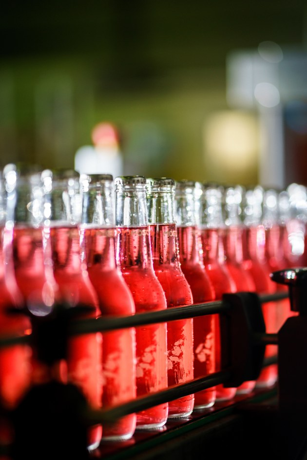 The company also has six bottling lines across three manufacturing sites.