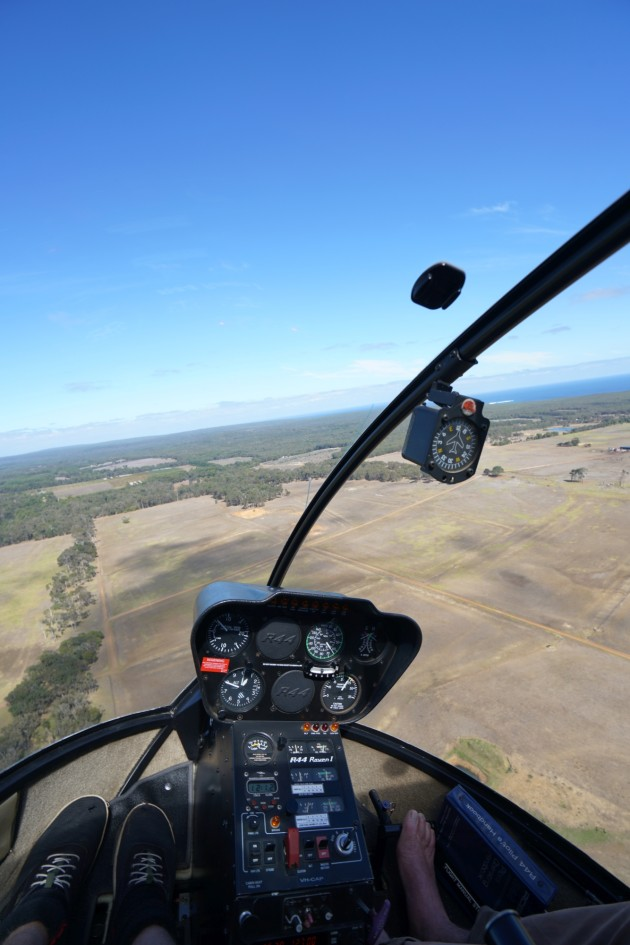 For that 'Wow' factor the trip features a scenic helicopter ride.