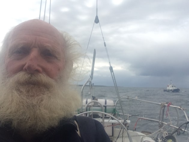 Bill Hatfield on his solo circumnavigation.