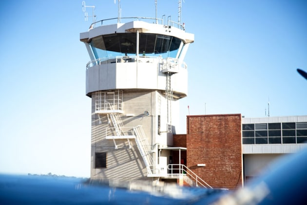 Airservices Australia tower at Bankstown Airport. (Airservices Australia)