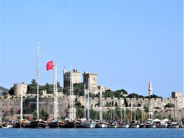 Bodrum Castle. Photo Maggie Joyce.