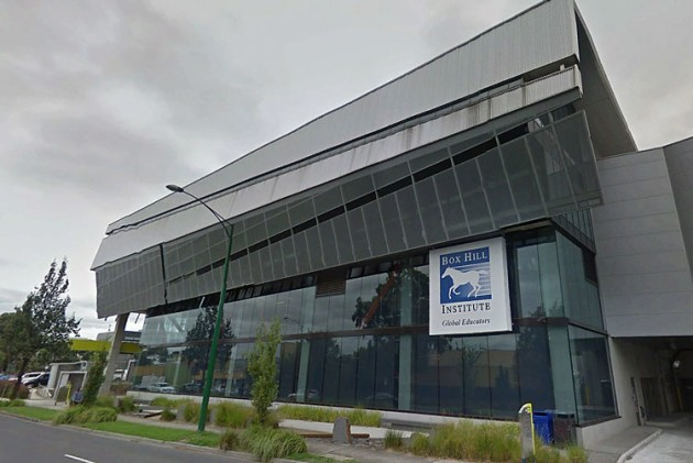 Box Hill Institute in Melbourne's eastern suburbs. (Google Street View)