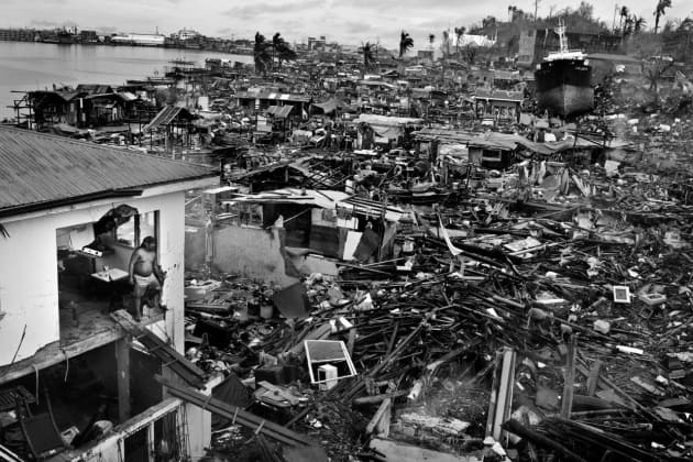 Tacloban. In November 2013, Typhoon Haiyan devastated large swathes of Southeast Asia, causing more than 6,300 fatalities in the Philippines alone. 