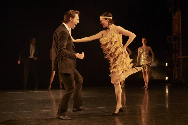 Brent Carson and Melissa McCabe in Sandy Delasalle's Just for Fun. Photo by Frances Andrijich