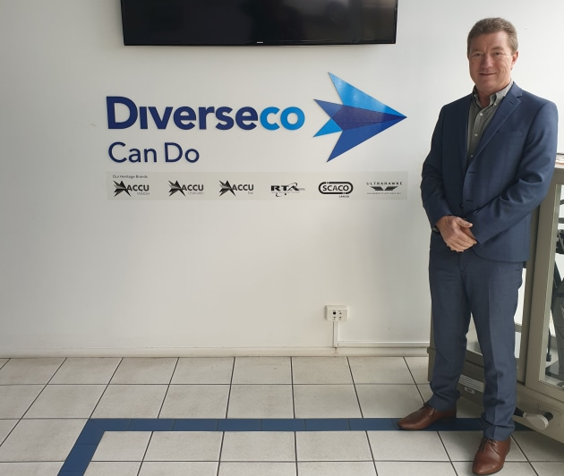 Can do approach: Brenton Cunningham, CEO of the restructured Diverseco.