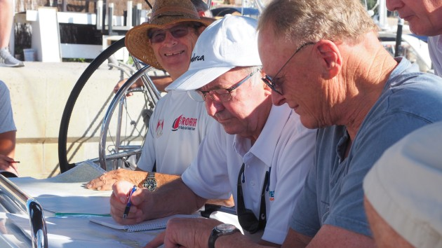 Mariner Boating Holidays - briefing.