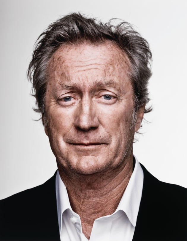 Bryan Brown, 2008 by Adam Knott. Collection: National Portrait Gallery.