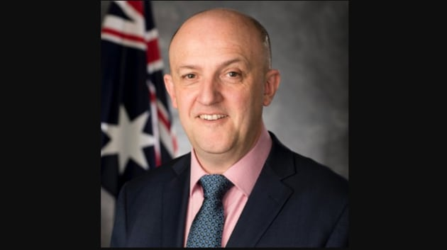 New ASIO chief Mike Burgess. Credit: @MikePBurgess