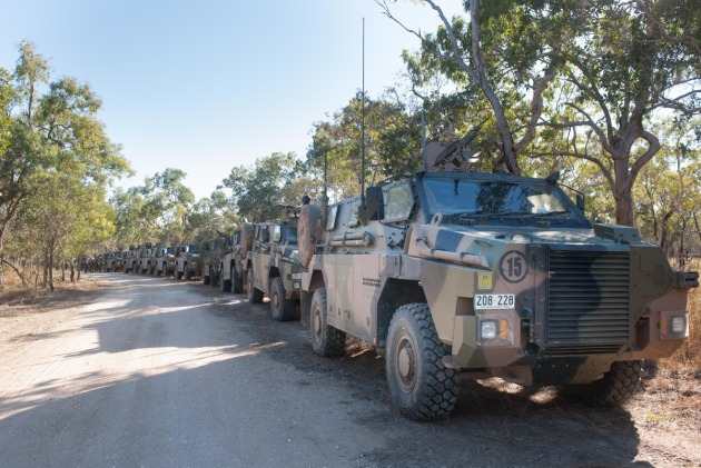 Thales' Bushmasters are a major Australian export success story.