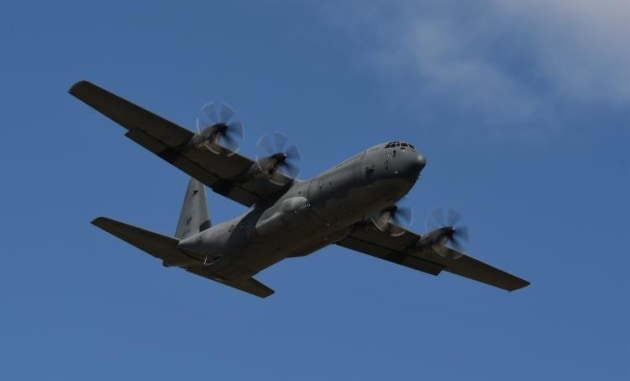 An H-model Hercules represented a long line of C-130s that have served with the RAAF. (Steve Hitchen)
