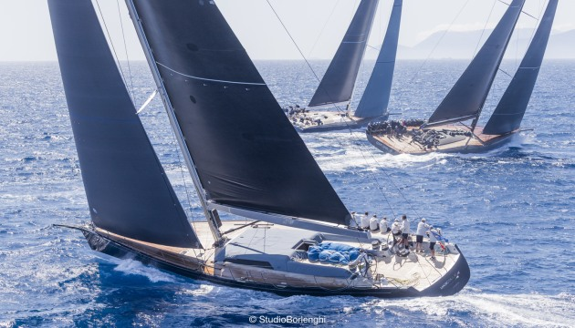 Wally fleet at the Loro Piana Superyacht Regatta 2019 - Photo credits YCCS - Carlo Borlenghi.