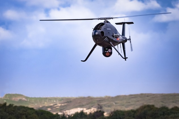 Schiebel's heavy-fuel variant Camcopter S-100 UAS completed its flying program for RAN's customer acceptance program.