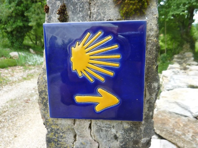 The shell is the iconic symbol of the Camino.
