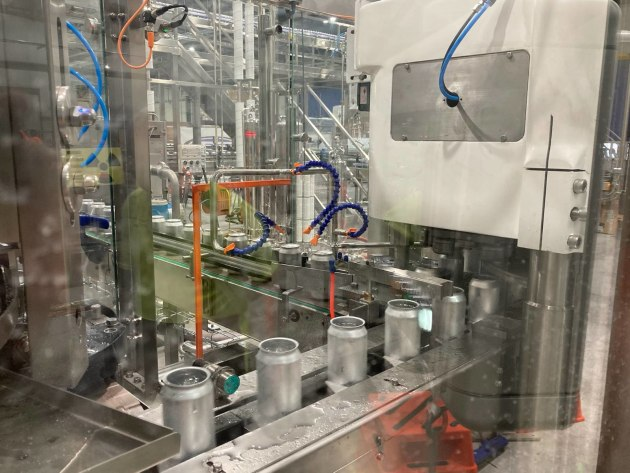 Best Bottlers' new canning line installed at its Mildura facility.