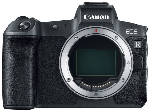 Canon's first full-frame mirrorless camera, the EOS R, will be available in Australia in October.