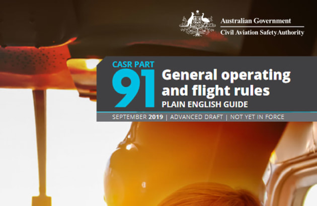 CASA's Part 91 Plain English Guide is aimed at making flight rules more understandable.