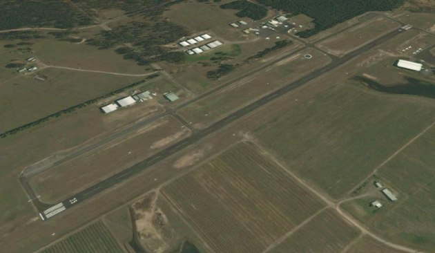 Cessnock Airport will get a makeover thanks to a NSW government grant. (Google Earth image)
