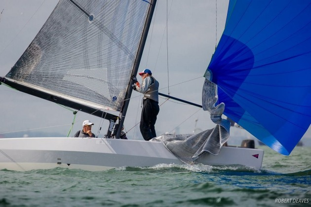Champion Aussie sailor Rob Brown will steer Alpha Crucis - Robert Deaves pic - 5.5 Metre Worlds.